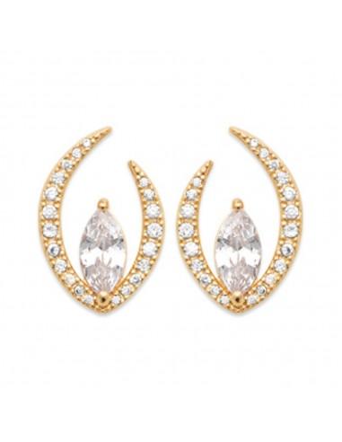 Boucles d'Oreilles DIAMOND en Plaqué...
