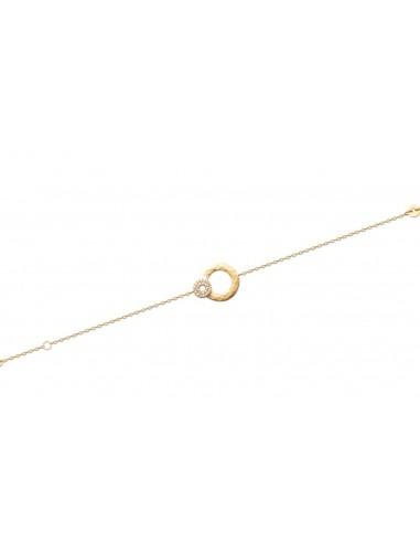 Bracelet SALINES en Plaqué Or et...