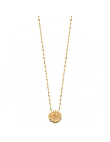 Collier SUNFLOWER en Plaqué Or